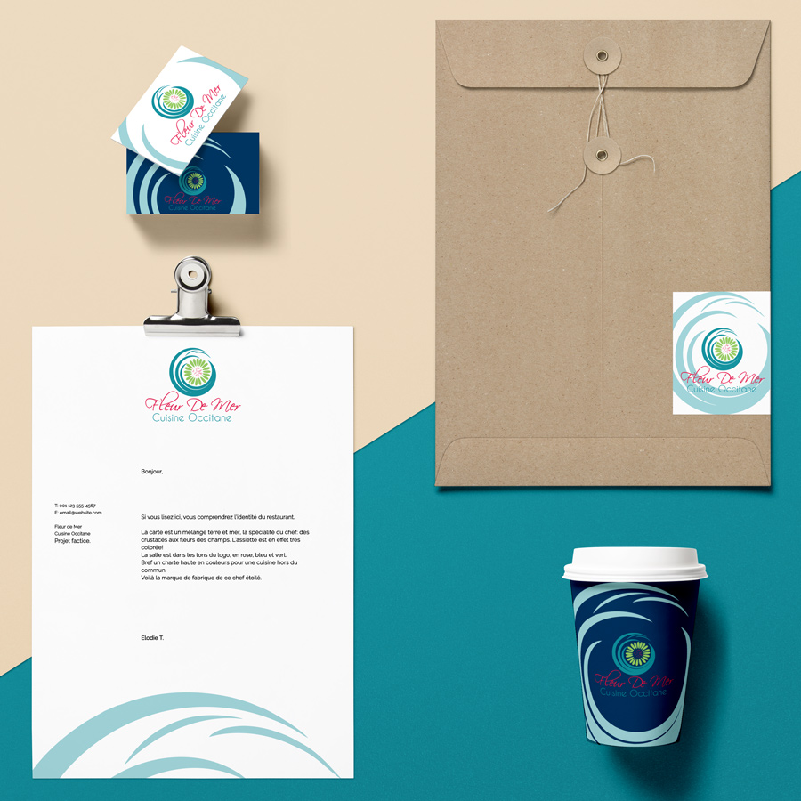 branding print de restaurant